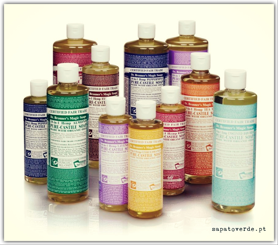 Sabonete Liquido Dr Bronner's
