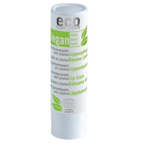 O balsamo labial vegan oferece uma proteção intensiva aos seus lábios com um toque de brilho. Com romã, óleo de jojoba e manteiga de karité.