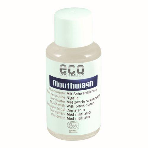 Este elixir oral tem uma valiosa mistura de óleos essenciais ideais para a higiene oral. A flora oral permanece saudável e protegida.