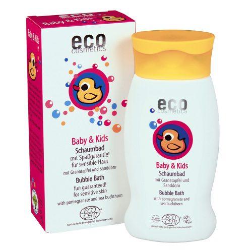 O banho de espuma especialmente para bebés e crianças com pele sensível.A espuma suave torna o banho divertido!