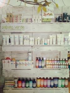 Eco and vegan cosmetics