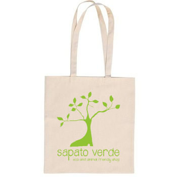 TOTE BAG NATURAL Sapato Verde