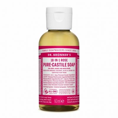 Sabonete Líquido Biológico - Rosa 60ml