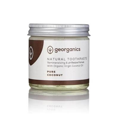 Pasta de Dentes Natural e Orgânica Georganics 60g – Coco puro