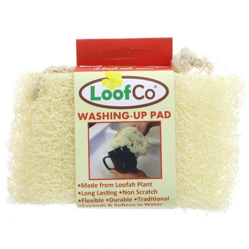 Esponja para a loiça biodegradável, uma alternativa ecológica às esponjas e escovas de plástico. Produzida de forma sustentável no Egipto.