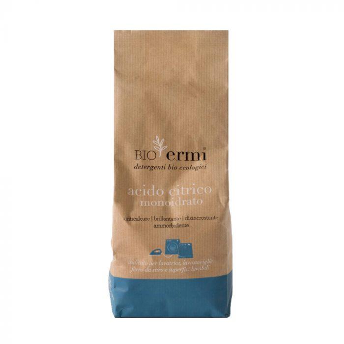 O ácido cítrico é um produto naturalem póque permite várias aplicações, como abrilhantador, desengordurante ou anti-calcário.