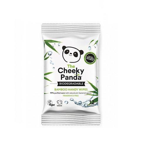 As toalhitas de bolso de bambu da Cheeky Panda são a resposta natural para manter-se limpo em movimento! Biodegradáveis e compostáveis.