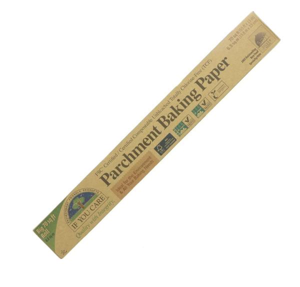 Papel manteiga ecológico e reutilizável.