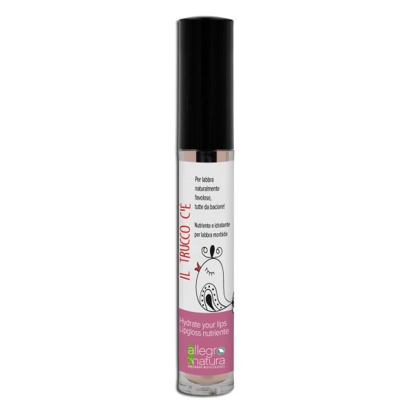Lip gloss com ácido hialurónico, vitamina E e extrato biológico de rosa damascena que nutre e hidrata os lábios, tornando-os macios e irresistíveis!