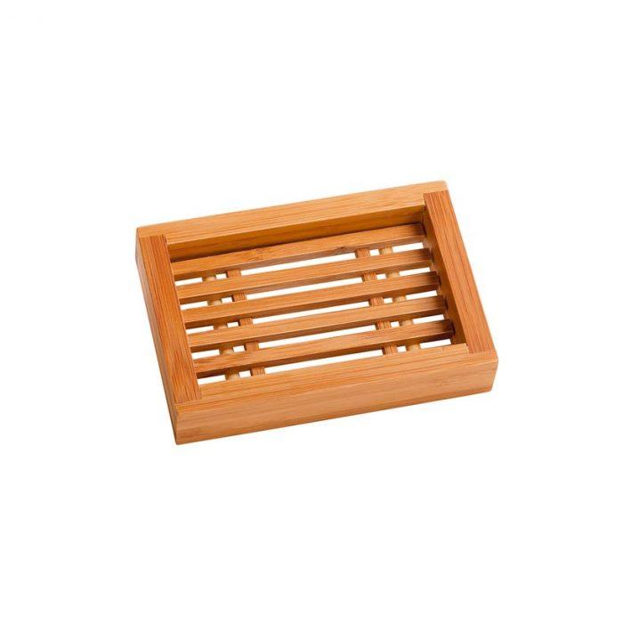Saboneteira de bambu ideal para colocar sabonetes ou champô sólido! Saboneteira biodegradável e sem plástico.