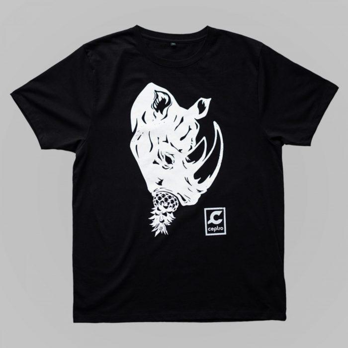T-shirt 100% algodão orgânico.