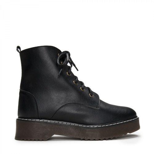 As botas Dylan são feitas com microfibra ecológica e forradas com algodão 100% orgânico.