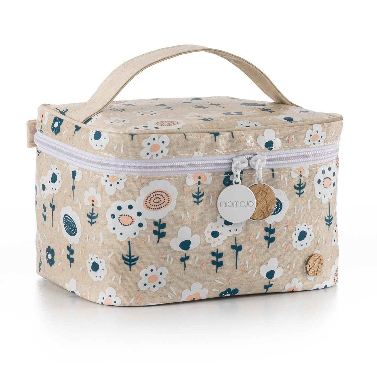 Bolsa de viagem para transportar os seus itens de cosmética e/ou maquilhagem quando viaja.Esta bolsa é impermeável e lavável.