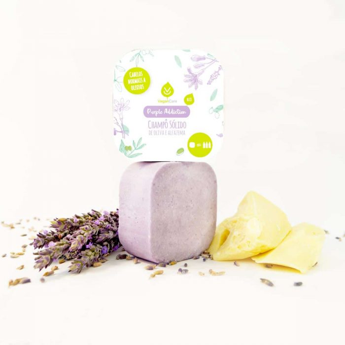 O champô sólido de oliva & alfazema foi especialmente desenvolvido para cabelos normais a oleosos. Biodegradável e produzido em Portugal.