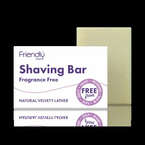 Para um barbear perfeito e ecológico o sabão de barbear da Friendly Soap é a opção indicada.