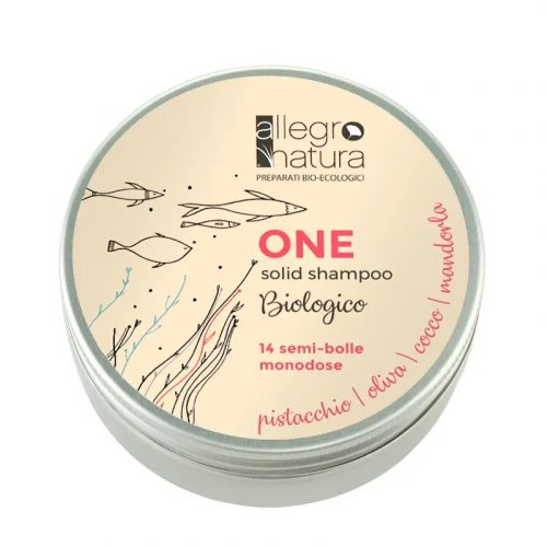 O champô sólido, da Allegro Natura, é natural, biológico e irá nutrir o seu cabelo sem deixá-lo pesado. Uma semi-esfera é mágica!