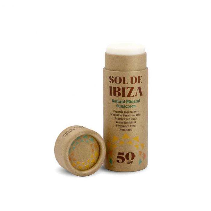 Protetor solar em stick concebido para nos trazer uma proteção eficaz com ingredientes naturais. Resistente à água,vegano e biológico.