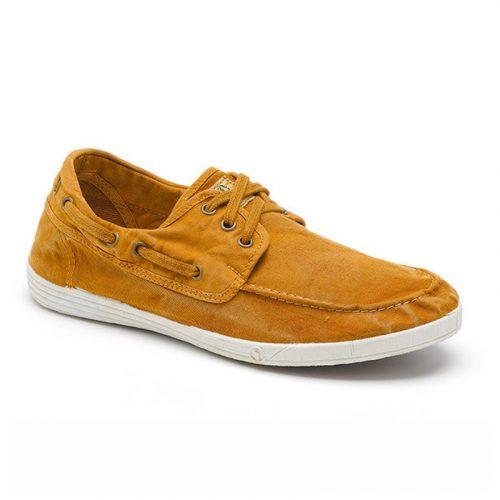 Os boat shoes elbrus cuero são sustentáveis e super confortáveis! Feitos com algodão orgânico e borracha natural.