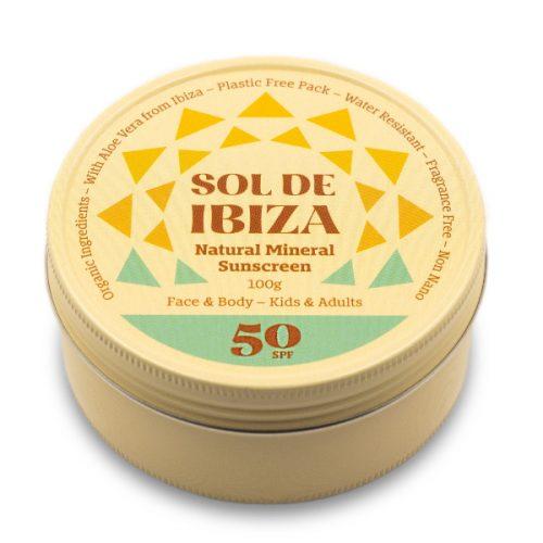 Protetor solar natural concebido para nos trazer uma proteção eficaz com ingredientes naturais. Resistente à água e vegano.