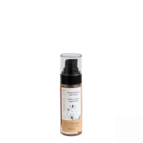 CC Cream biológico fácil de aplicar com uma textura aveludada, com pigmentos naturais que uniformizam o tom da pele de forma natural.