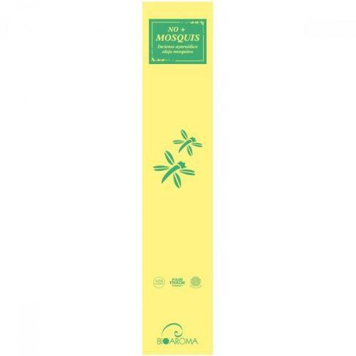 Incenso repelente de mosquitos que combina plantas tradicionais, pó de neem e óleos essenciais puros de citronela e eucalipto.