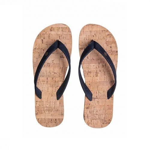 """Os chinelos em cortiça sky blue, da Original Cork, são """"easy style"""" design, para usar na praia, campo ou cidade. Cor: sky blue (azul escuro)."""