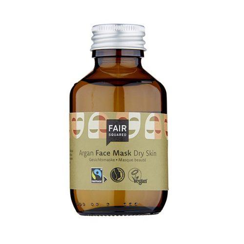 A máscara facial, da FAIR SQUARED, foi desenvolvida para oferecer à pele uma hidratação extra. Produtos neutros em CO2. Embalagem de vidro