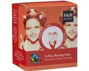 O sabão de barbear de café, da FAIR SQUARED, cria uma espuma rica perfeita para barbear. Com manteiga de karité e óleo de coco.