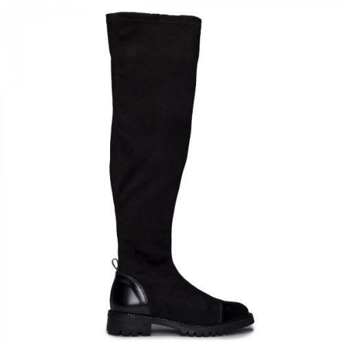 As paris Black são umas botas vegan de cano alto, feitas em couro vegan. Cuidadosamente fabricado em Portugal.